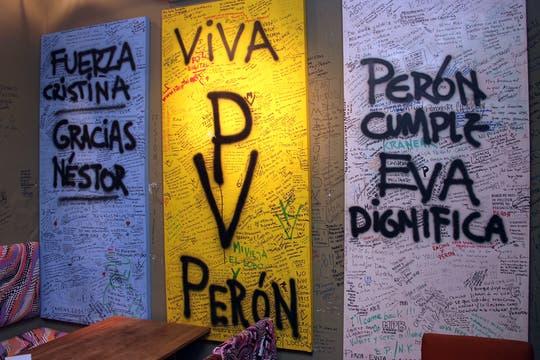 Perón Perón Resto Bar. Foto: LA NACION / Matías Aimar