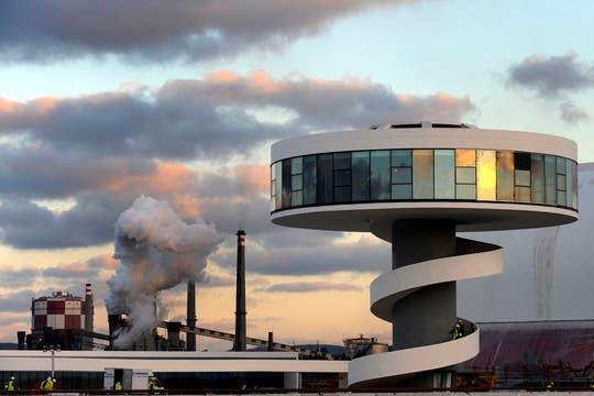 El centro Niemeyer es un centro cultural ubicado en Avila, España. Foto: Archivo