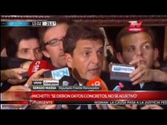 """Sergio Massa: """"Queremos el compromiso de resolver el problema del Impuesto a las Ganancias"""""""