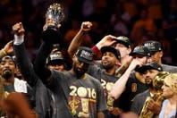 """La emoción de LeBron James, elegido MVP: """"Cleveland, esto es para ustedes"""""""