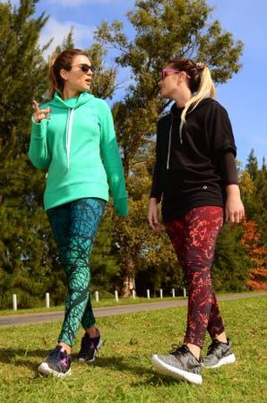 Un look para caminar y ejercitar con amigas