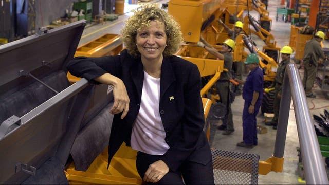Rosana Negrini, de Agrometal, fábrica instalada en Monte Maíz y que durante 2016 aumento su producción de sembradoras