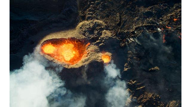 Volcán Pitón de la Fournaise