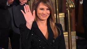 La primera dama norteamerciana, Melania Trump