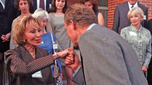 El Rey Juan Carlos de España la recibió en junio de 1998. Foto: Gentileza Clarín