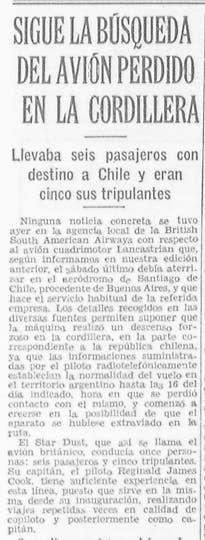 El misterio del Star Dust hasta generó tensión diplomática entre la Argentina y Gran Bretaña