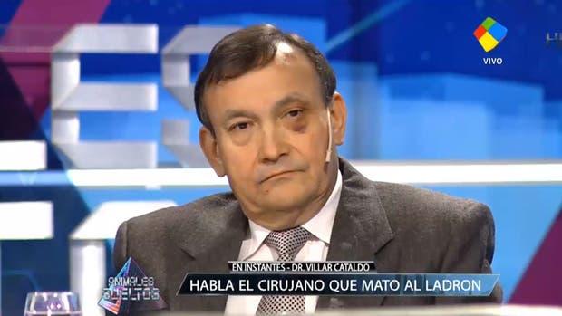 Lino Darío Villar Cataldo durante una entrevista televisiva en 2016
