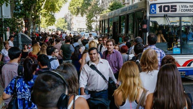 El transporte, complicado por la amenaza de un paro si se aprueba la reforma previsional