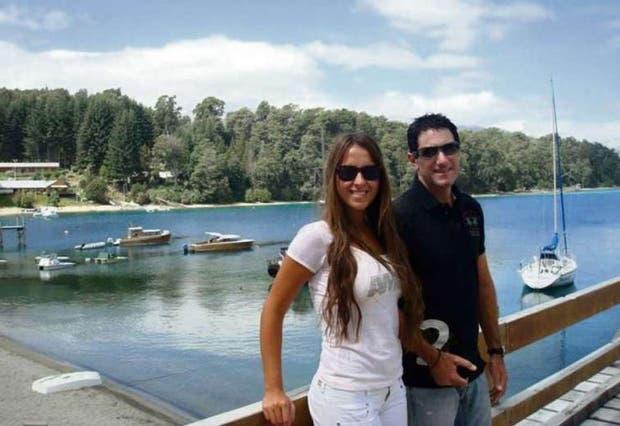 Damián Stefanini y su esposa, Antonella