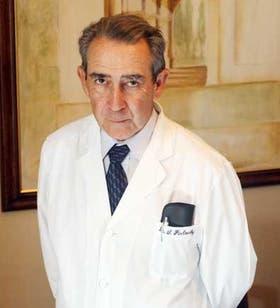 El doctor Santiago Pavlovsky, en Fundaleu