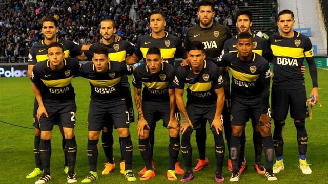 La formación más reciente, en el 4-0 contra Aldosivi