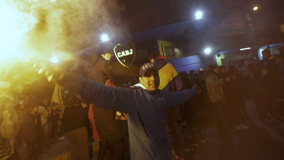 La fiesta empezó en un hotel bahiense, pasó por el Obelisco, llegó a la cancha de Boca y se extendió a todo el país. Foto: LA NACION / Daniel Jayo