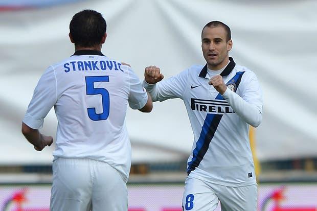 Palacio le cambió la cara a Inter