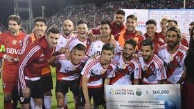 River viene de ganarle a Atlas en la Copa Argentina