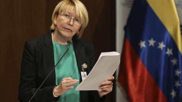 Maduro pedirá a Interpol capturar a exfiscal venezolana Luisa Ortega