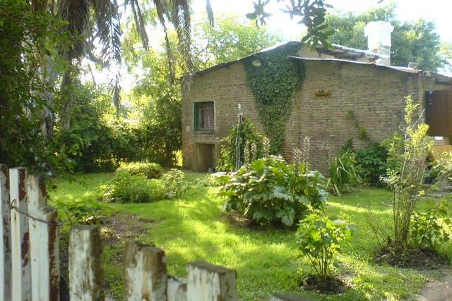 La casa de San Vicente donde fueron robadas sus pertenencias
