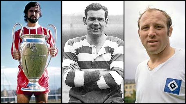 Gerd Müller, Jimmy McGrory y Uwe Seeler, los tres artilleros que tiene más goles que Messi