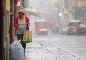 Se espera que las lluvias en Capital continúen hasta mañana