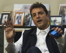 Massa está casado con Malena Galmarini, una militante del PJ