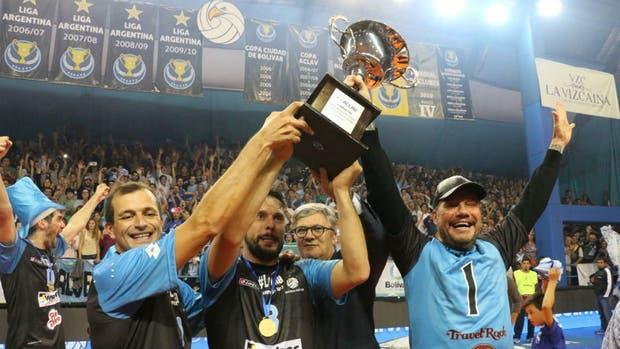 El desahogo con el título de Bolívar en la Liga Argentina