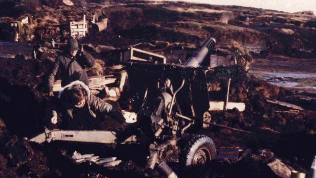 Kasanzew, el día en que le permitieron disparar un ca?ón de 105 mm contra los ingleses, en Malvinas