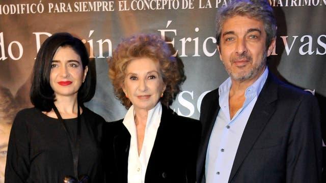 Erica Rivas y Ricardo Darín protagonizan Escenas de la vida conyugal, dirigidos por Norma Alenadro