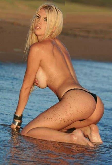 Wanda, desnuda, otra vez...