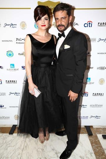 Una pareja muy sexy, Araceli pronto dirá el sí por tercera vez y será la mujer de Fabián Mazzei. Foto: Gerardo Viercovich