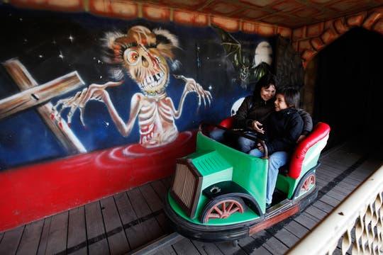 ArgenPark, es el parque de diversiones de Luján, alli se encuentran gran parte de los viejos juegos que estaban en el ItalPark. Foto: LA NACION / Maxie Amena
