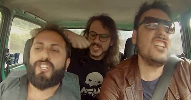El cantante no pudo evitar compartir el divertido viral de los italianos