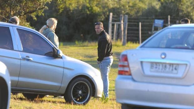 Lucho Romero, durante la búsqueda de su hijo