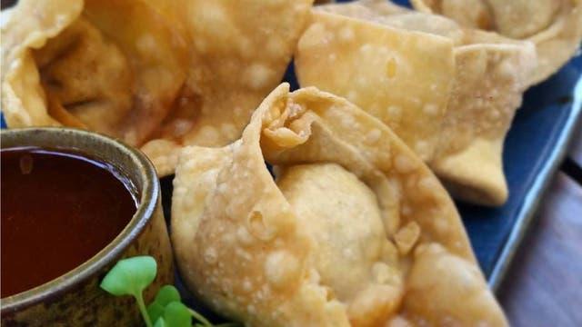 Wantanes fritos. Foto: gentileza La Mar