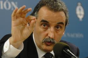 El secretario de Comercio Interior, Guillermo Moreno