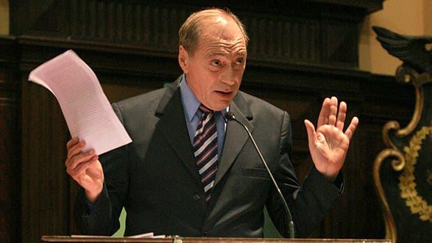 El ex juez de la Corte Suprema, Eugenio Zaffaroni