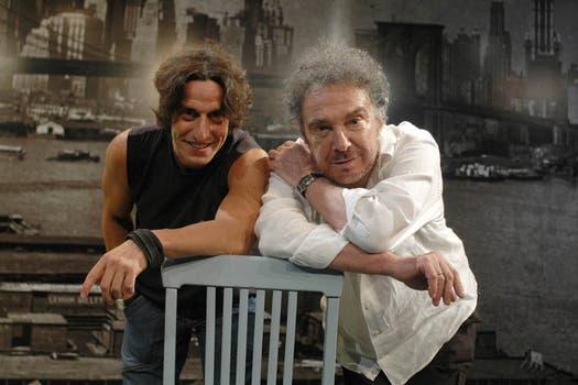 Con Diego Peretti conformó una gran dupla actoral en Muerte de un viajante, en teatro.