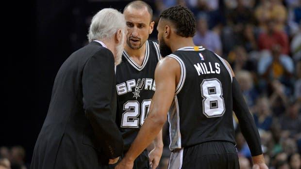 Los Spurs van ahora por Houston