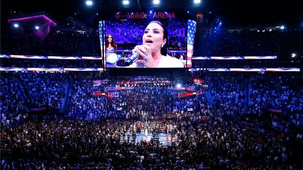 Un show increíble en Las Vegas