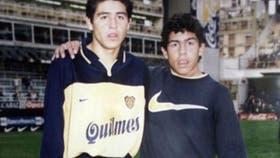 Un joven Tevez y un Riquelme que daba sus primeros pasos en Boca