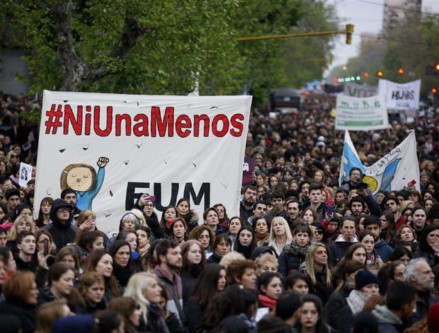La última marcha de mujeres fue en octubre
