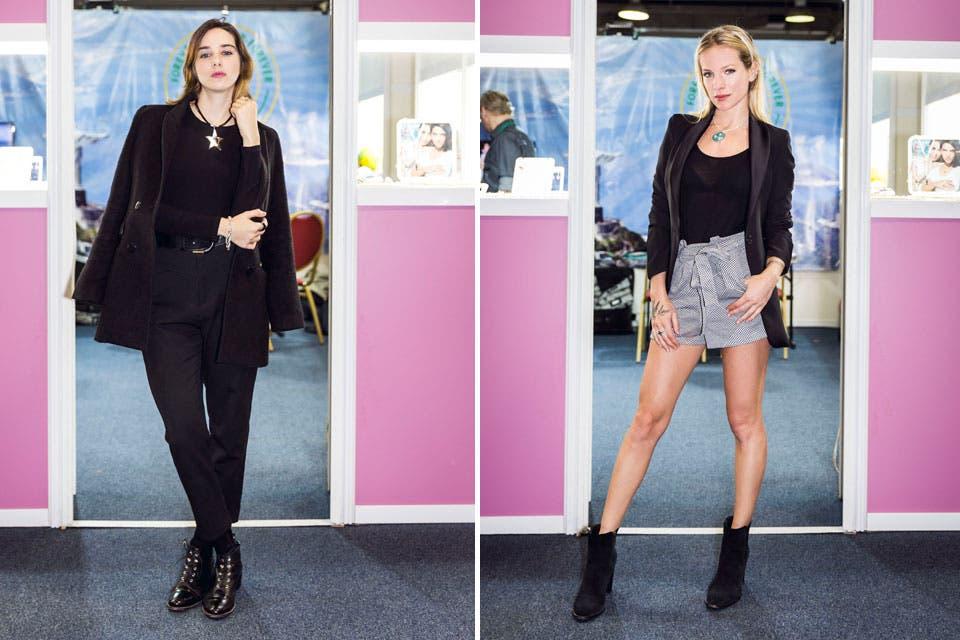 Maria Abadi y Virginia Da Cunha pasaron a conocer la nueva colección de Forever Jewels .
