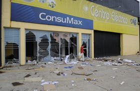 En Concordia hubo saqueos y violentos incidentes: el saldo anoche era de un muerto