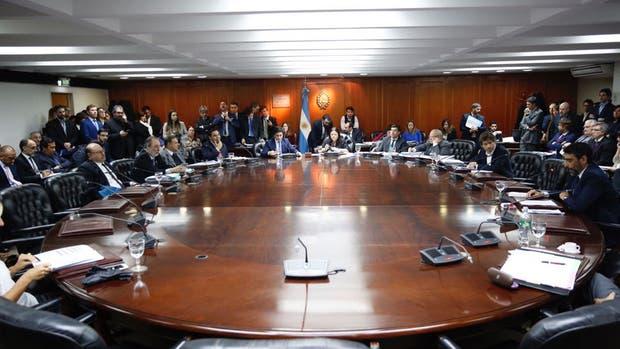 Plenario en el Consejo de la Magistratura