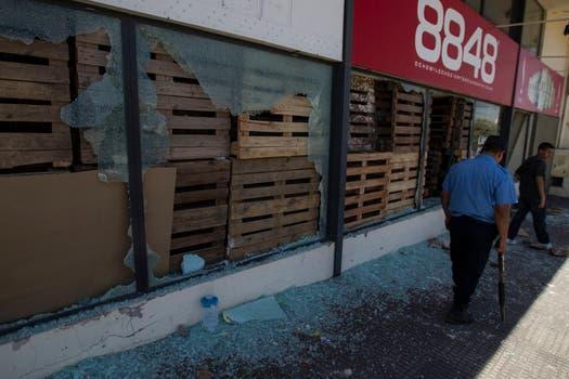 Las perdidas por los daños son millonarias. Foto: LA NACION / Aníbal Greco