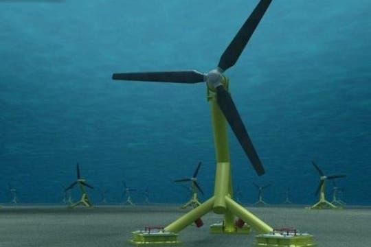 Cómo se proyecta sea el parque de energía subacuática o granja mareomotriz en Escocia.