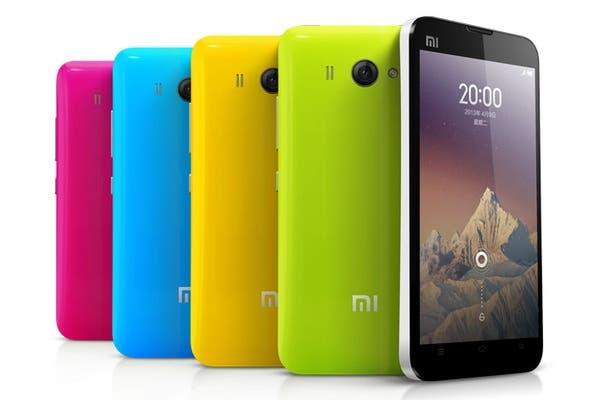 Un Xiaomi mi2S, con Android, chip de 4 núcleos 1,7 GHz y pantalla IPS de 4,3 pulgadas