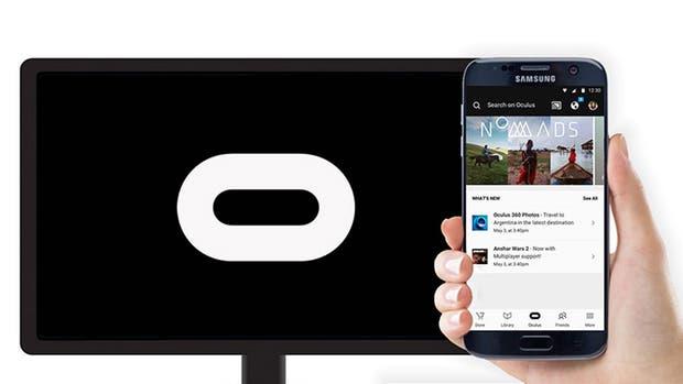 Los visores Gear VR de Samsung serán compatibles con Chromecast
