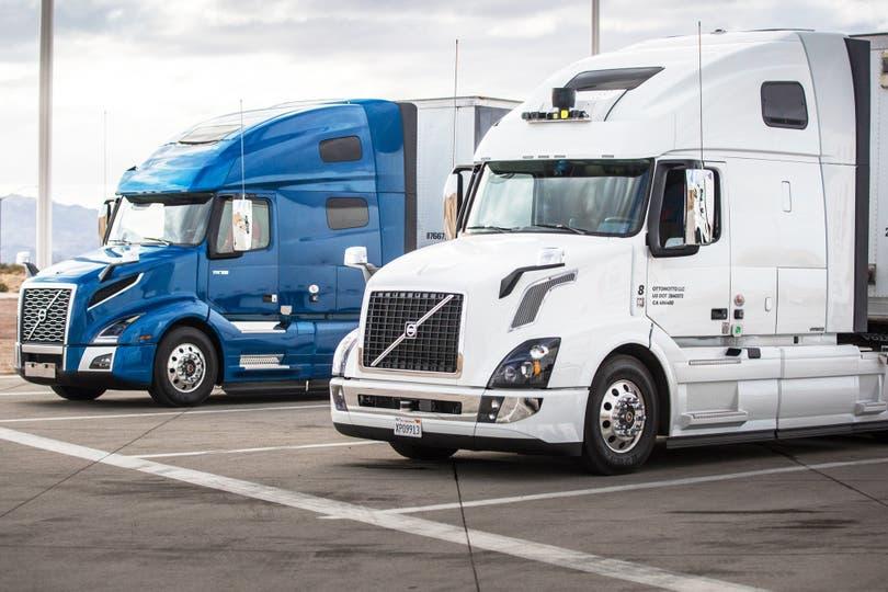 Los camiones sin chofer de Uber, como los de Google, comenzará a circular por las rutas estadounidenses