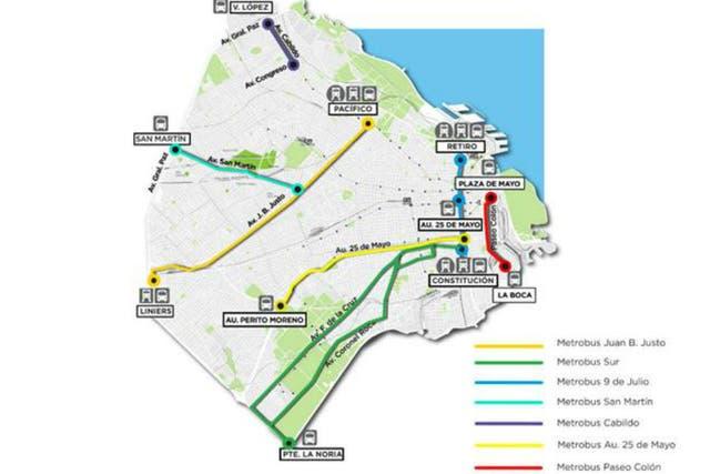 Otros tres ramales de Metrobus se sumarán a los existentes en 2015