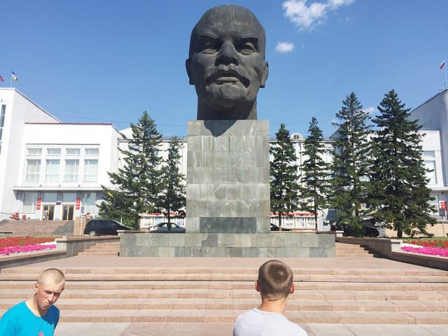 La estatua de Lenin, en Ulan-Ude, mide cuatro metros