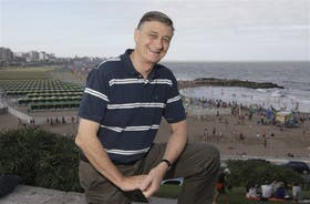 Binner recorrió la costa marplatense para arrancar la campaña